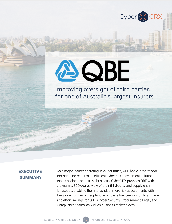 QBE Case Study Cover